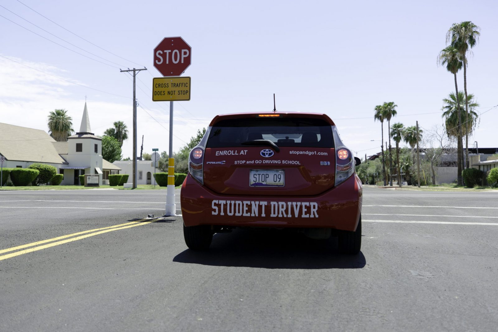 Go To Traffic School >> Stop And Go Driving School